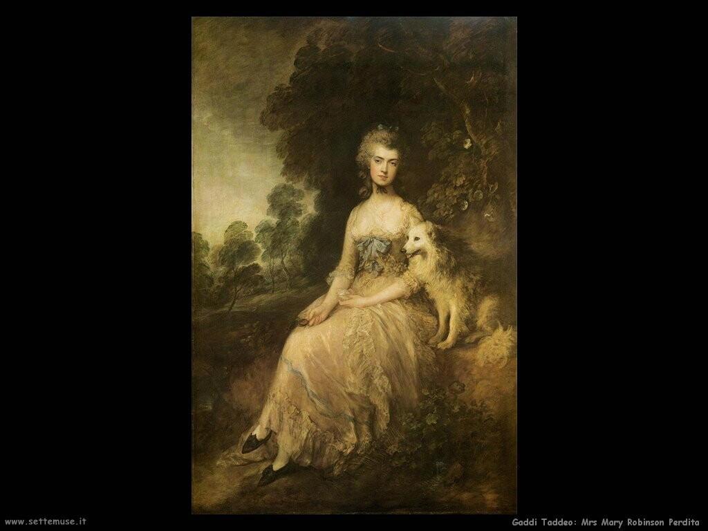 gainsborough thomas Mrs Mary Robinson Perdita