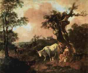 Pittura di Gainsborough Thomas