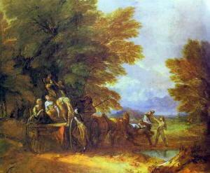 Paesaggio di Gainsborough Thomas