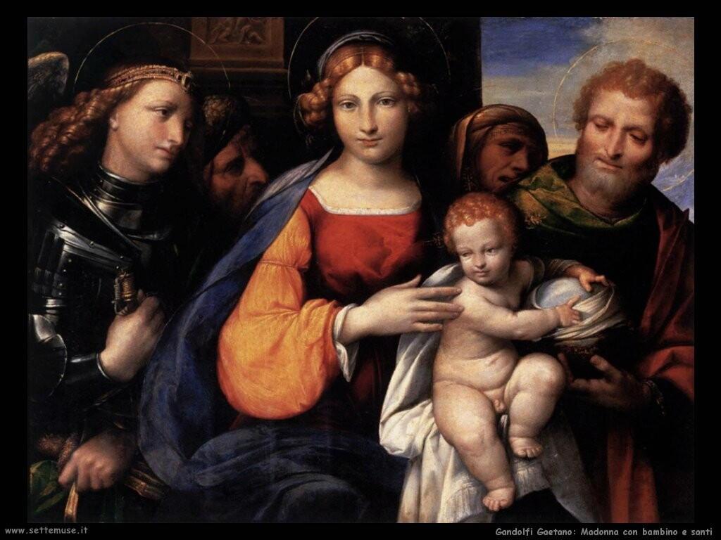 garofalo   Vergine con bambino e santi