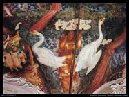 gherardi cristofano  Festoni decorativi (dett)