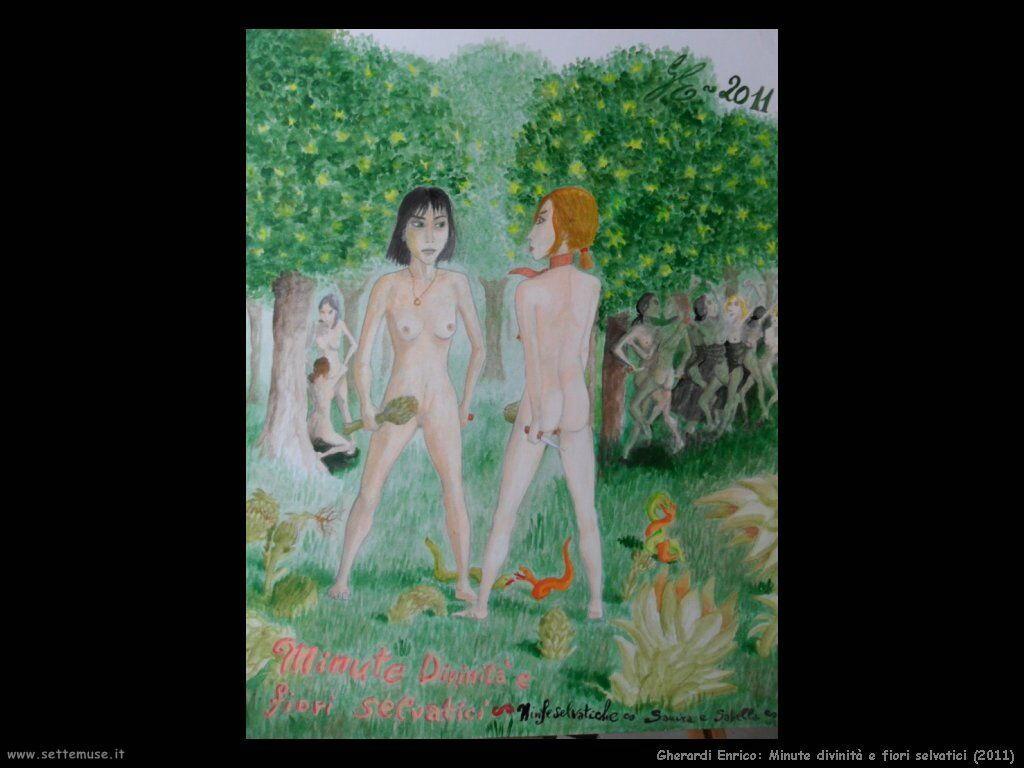 Gherardi Enrico Minute divinità e fiori selvatici (2011)