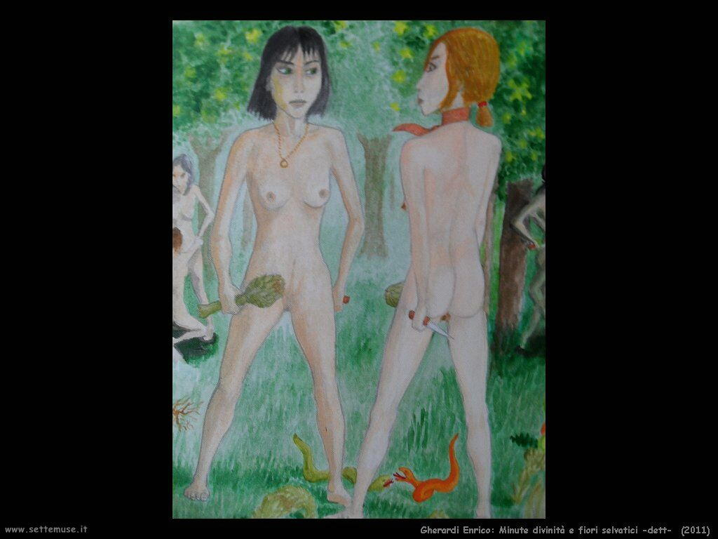 Gherardi Enrico Minute divinità e fiori selvatici (2011) dett