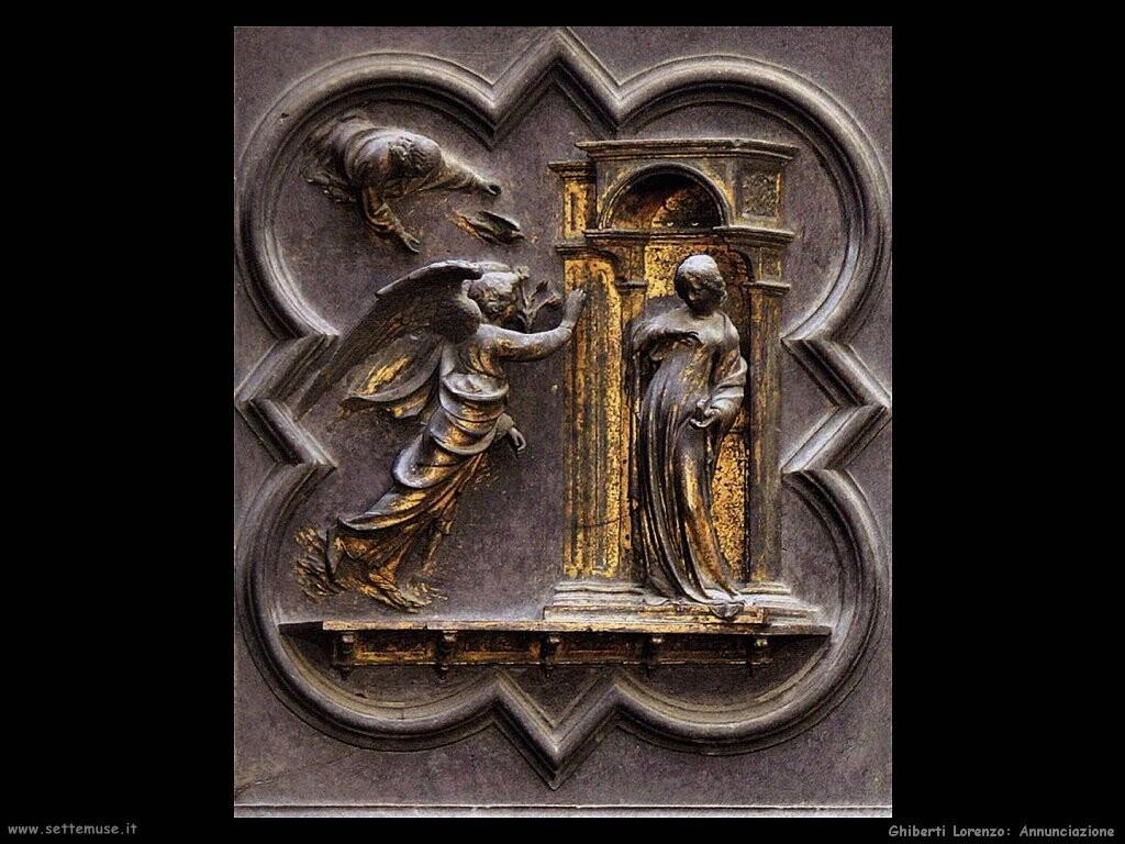ghiberti lorenzo  Annunciazione