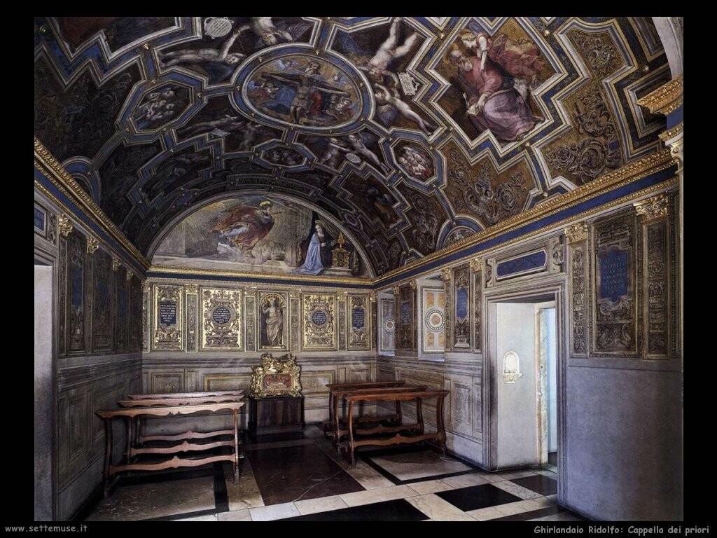 ghirlandaio ridolfo Cappella dei Priori