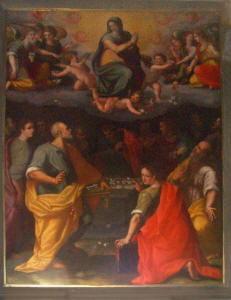 Pittura di Ghirlandaio Ridolfo