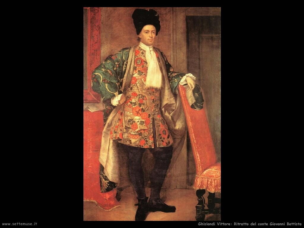 /ghislandi vittore Ritratto del conte Giovanni Battista