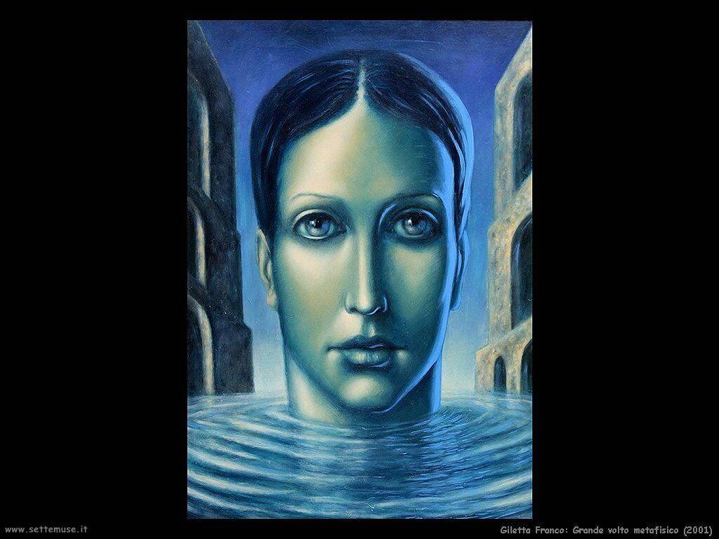 Giletta Franco Grande volto metafisico (2001)