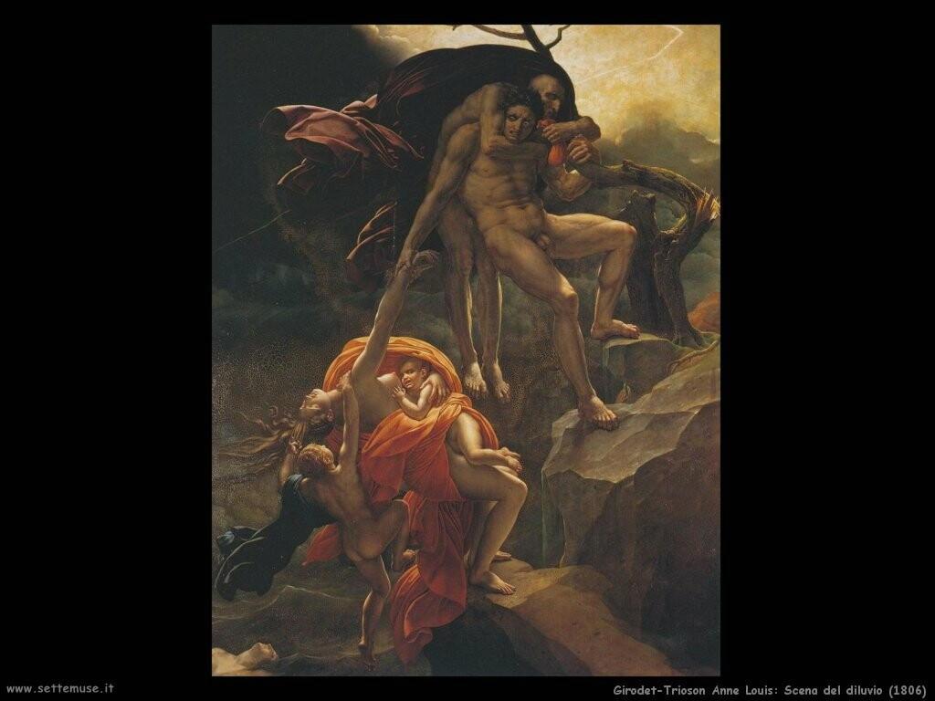 anne louis girodet trioson   scena_del_diluvio_1806