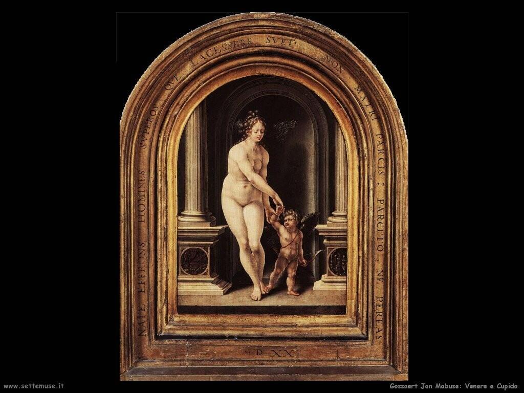 gossaert jan mabuse  Venere e Cupido