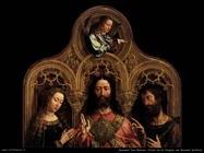 gossaert jan mabuse  Cristo tra la Vergine e san Giovanni