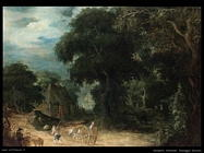 govaerts abraham Paesaggio boschivo