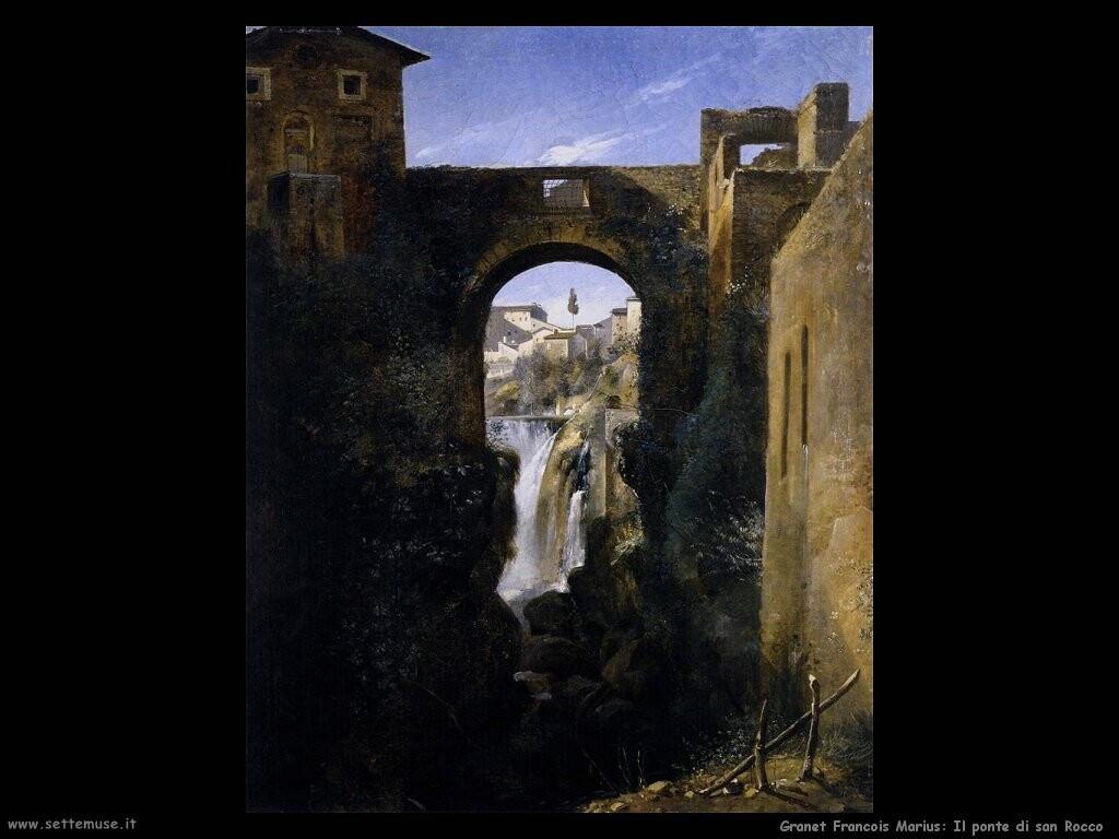 granet francois marius  Il ponte di san Rocco