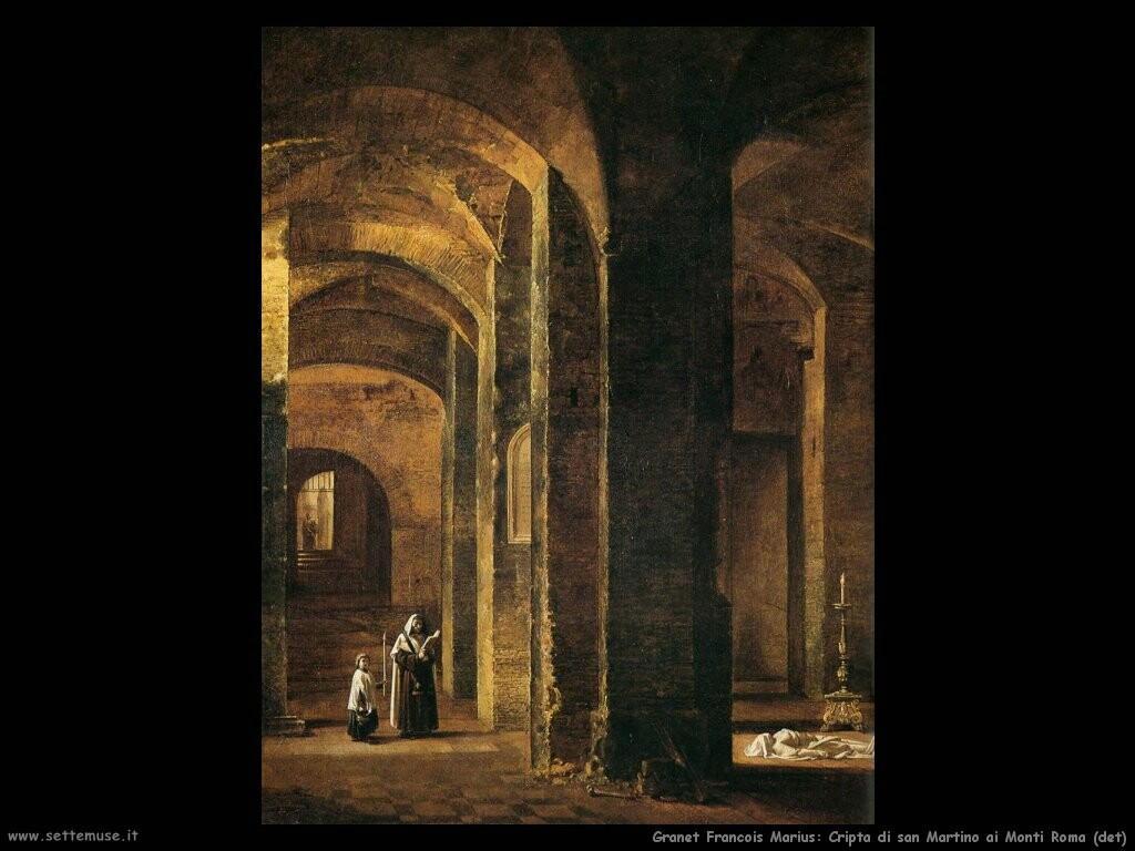 granet francois marius Cripta di san Martino ai monti (Roma) (dett)