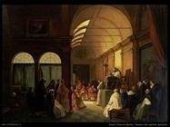 granet francois marius  Riunione del Capitolo Monastico
