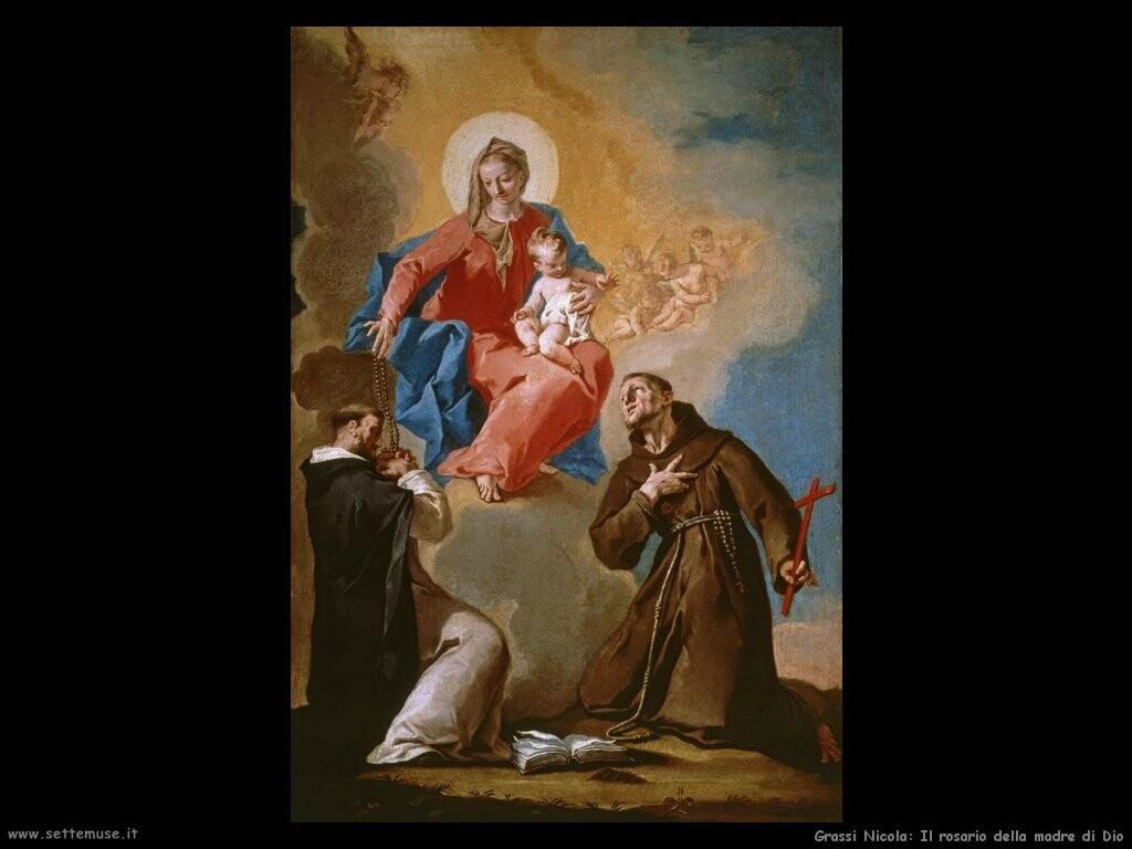 grassi nicola Il rosario della madre di Dio