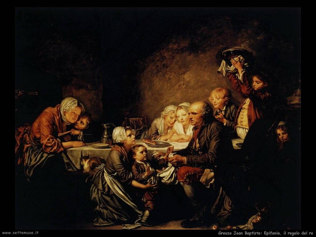 greuze jean baptiste Epifania, il regalo del re