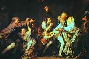 Pittura di Greuze Jean-Baptiste