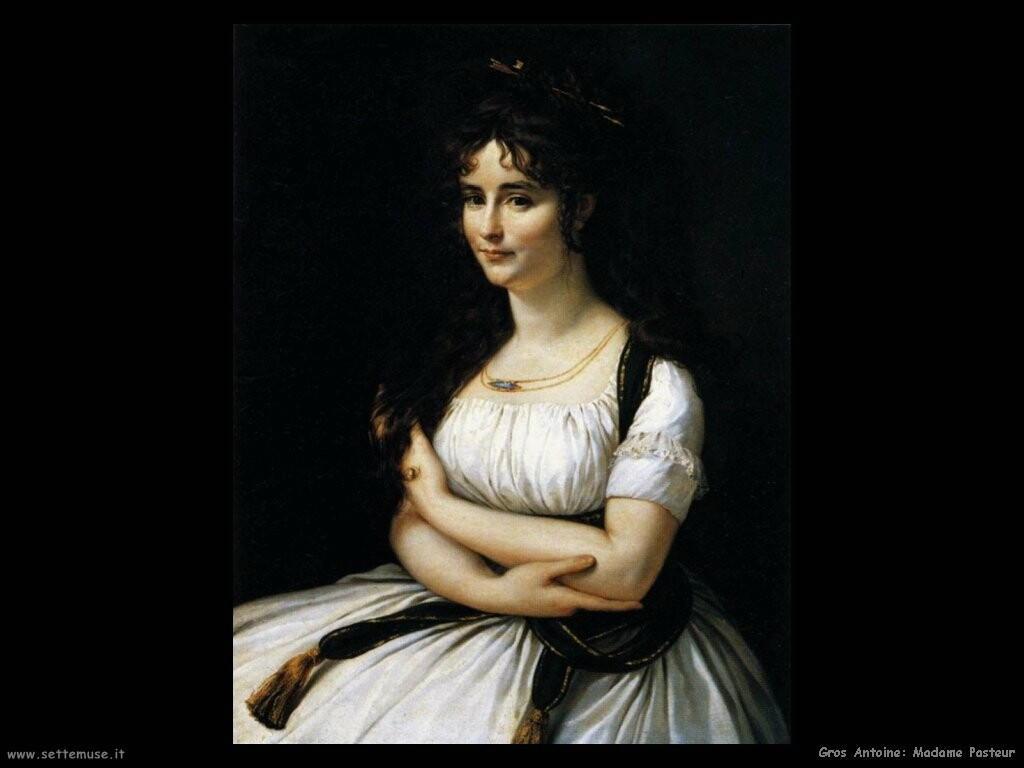 gros antoine jean  Madame Pasteur