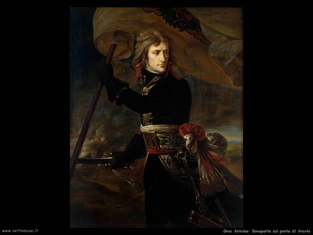 gros antoine jean Bonaparte sul ponte di Arcole