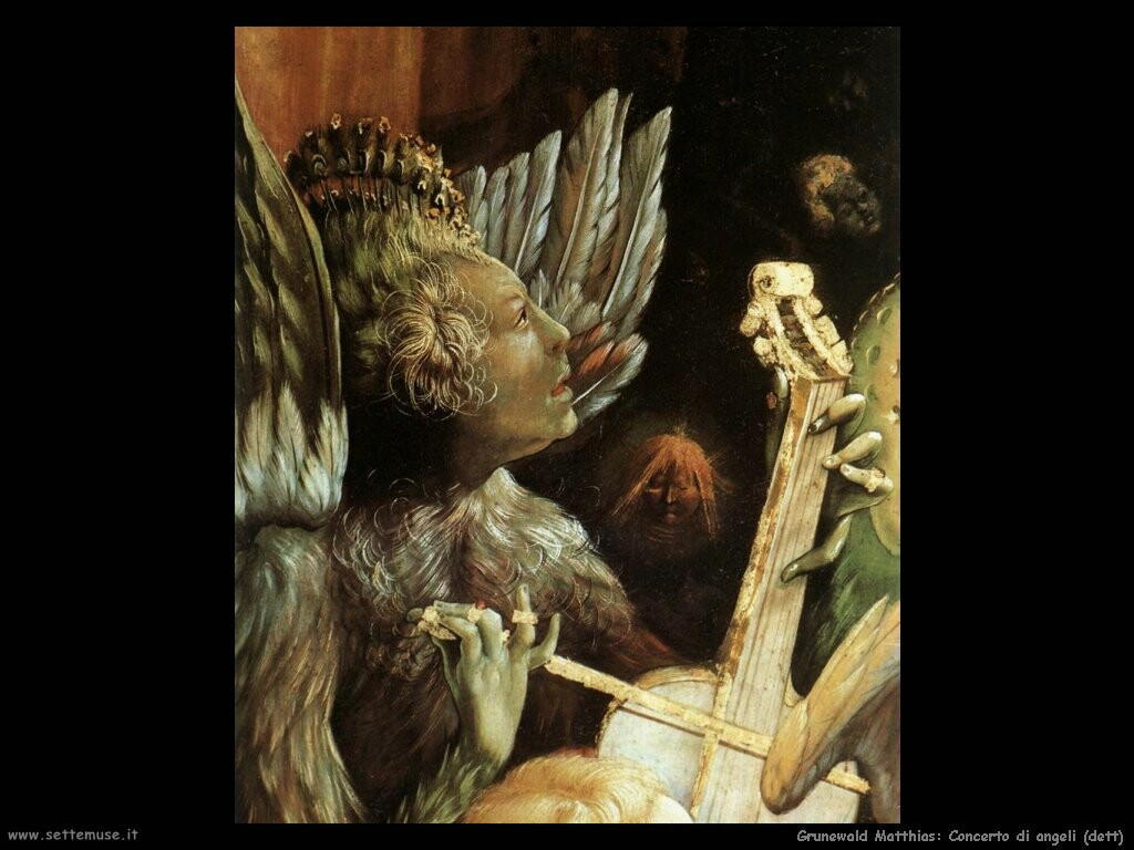 grunewald matthias  Concerto degli angeli (dett)