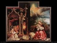 grunewald matthias   Concerto degli angeli e Natività