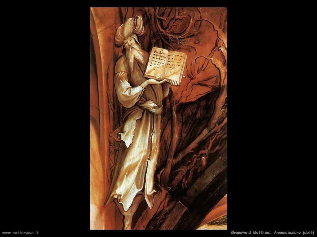 grunewald matthias Annunciazione (dett)