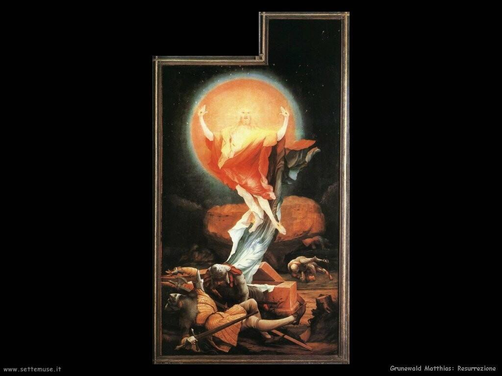 grunewald matthias   Resurrezione