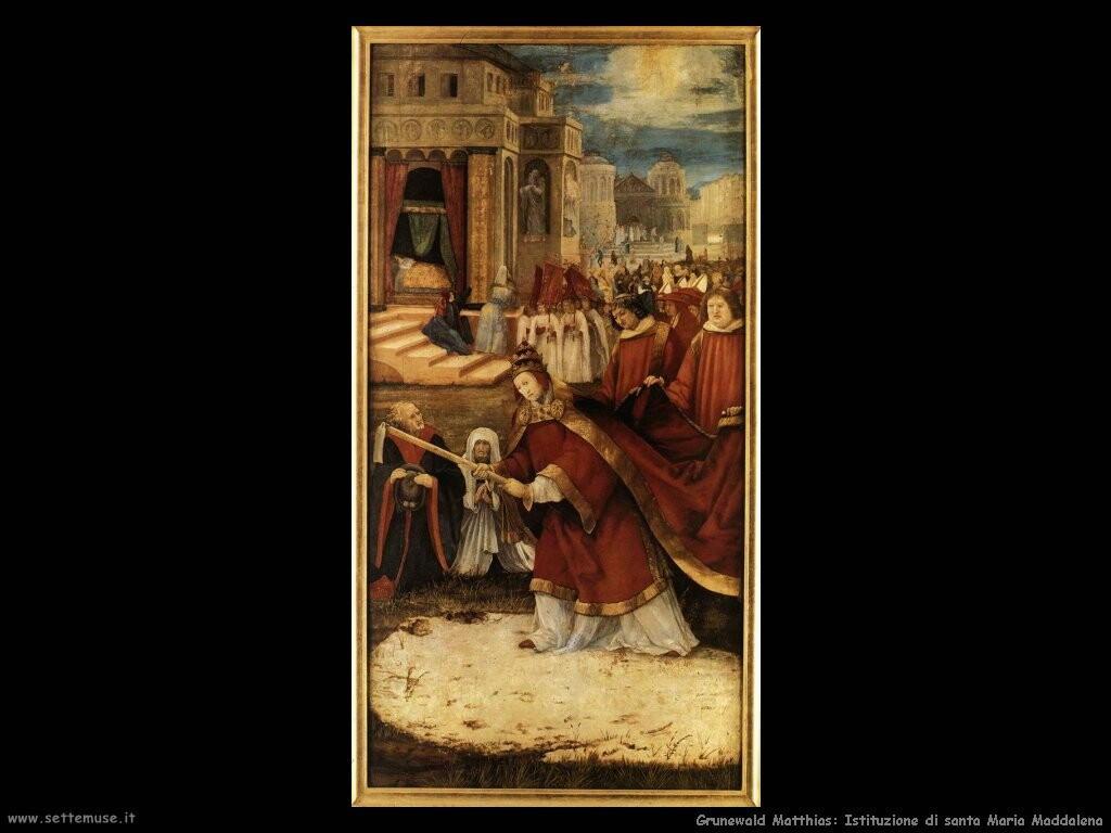 grunewald matthias Santa Maria Maddalena