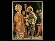 grunewald matthias Incontro di sant'Erasmo con san Maurizio