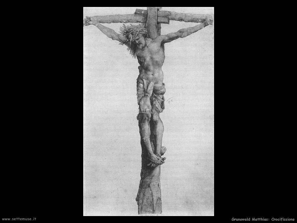 grunewald matthias Crocifissione