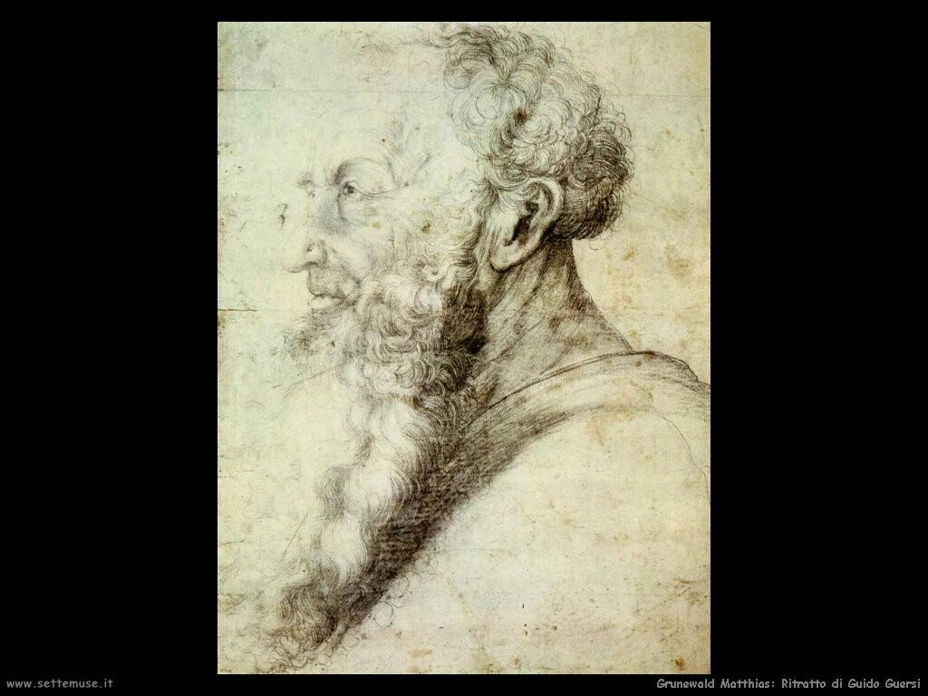 grunewald matthias Ritratto di Guido Guersi