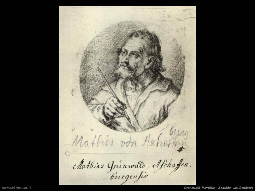 grunewald matthias Joachim von Sandrart