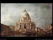 guardi francesco Il doge alla basilica della Salute