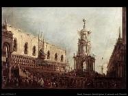 guardi francesco  Martedì del carnevale nella piazzetta