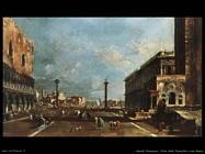guardi francesco   Vista della Piazzetta san Marco