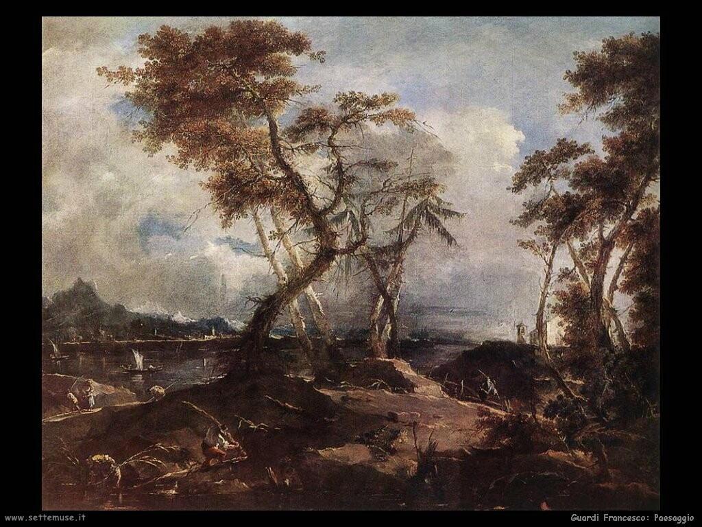 guardi francesco  Paesaggio