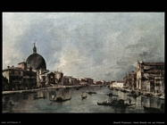 guardi francesco  Canal Grande con san Simeone