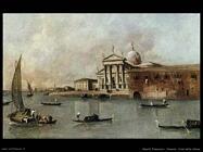 guardi francesco  Venezia, una vista della chiesa