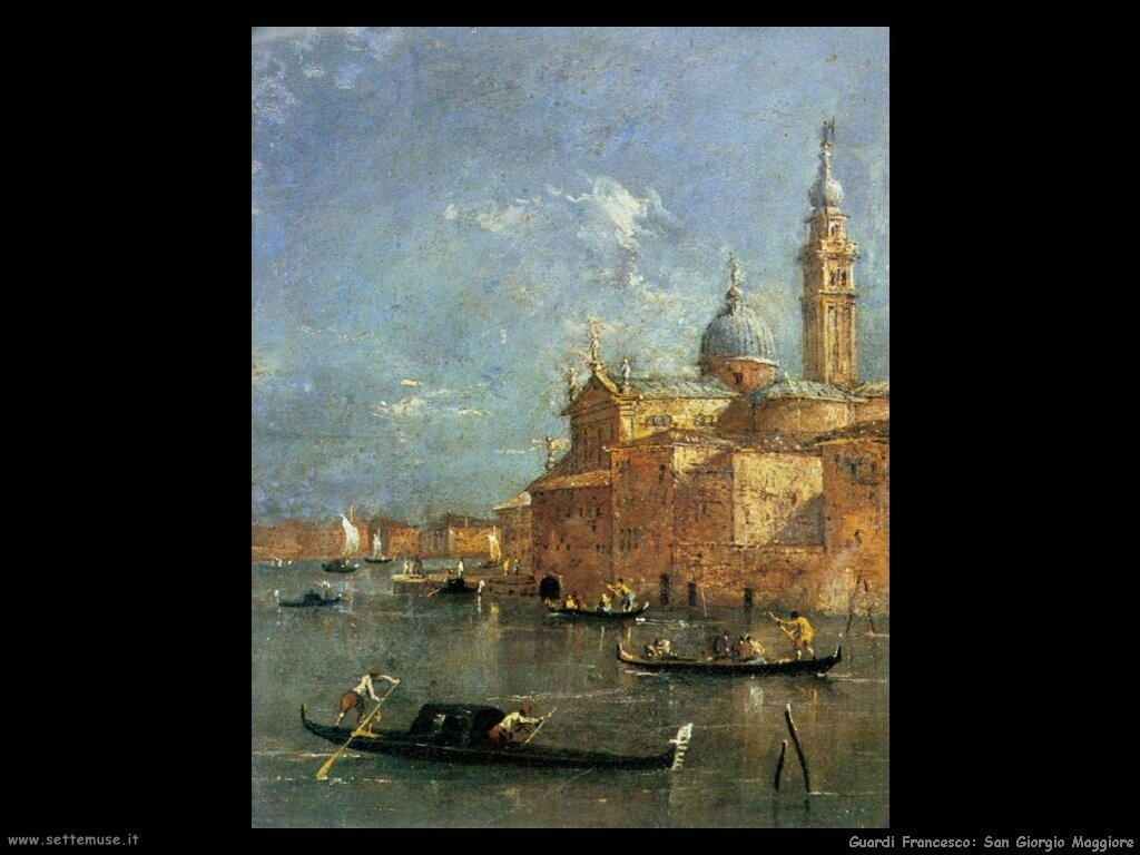 guardi francesco  San Giorgio Maggiore