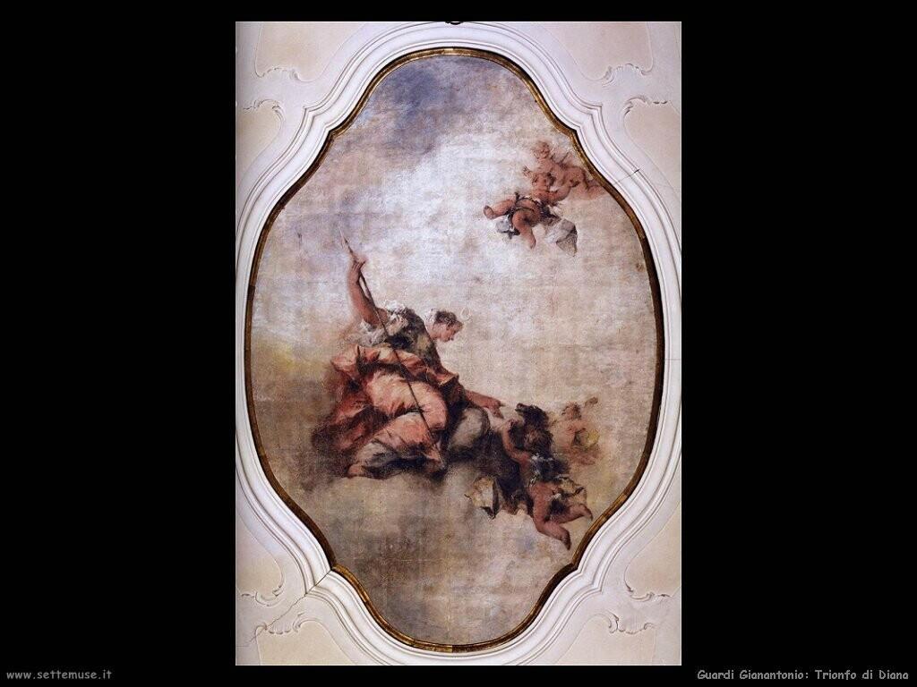 guardi gianantonio Trionfo di Diana