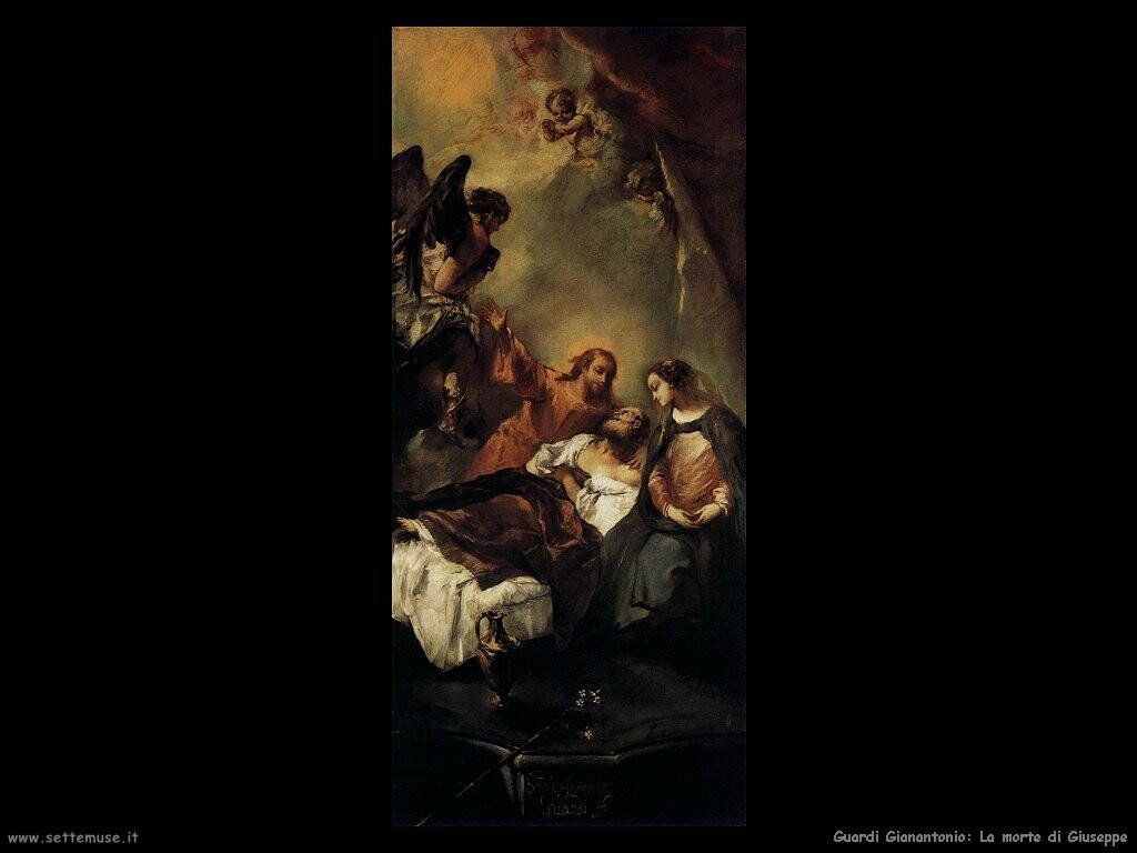 guardi gianantonio La morte di Giuseppe