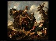 guardi gianantonio Erminia e Vafrino trovano Tancredi ferito