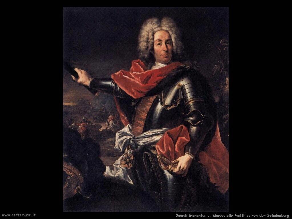 guardi gianantonio Ritratto del maresciallo Matthias von der Schulenburg