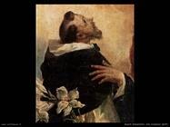 guardi gianantonio Vergine e bambino con san Domenico e Rosa di Lima (dett)