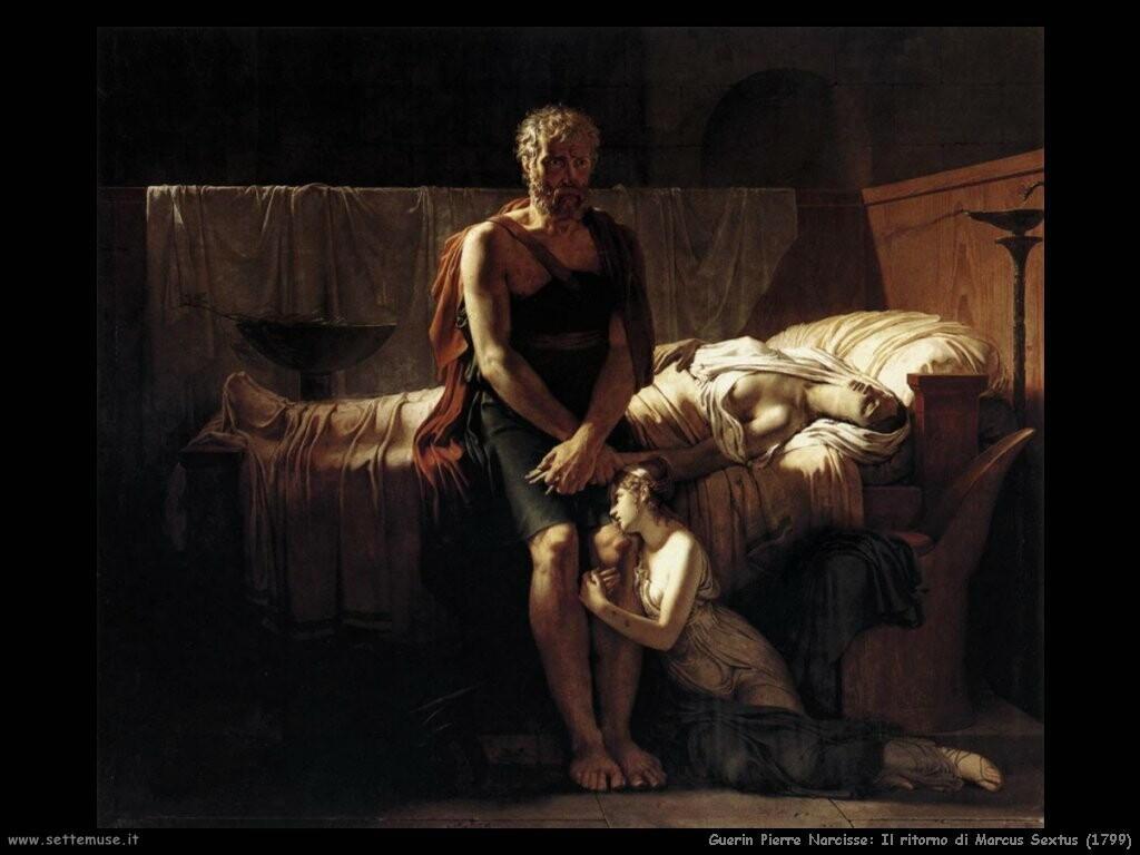 guerin pierre narcisse   Il Ritorno di Marco VI 1799