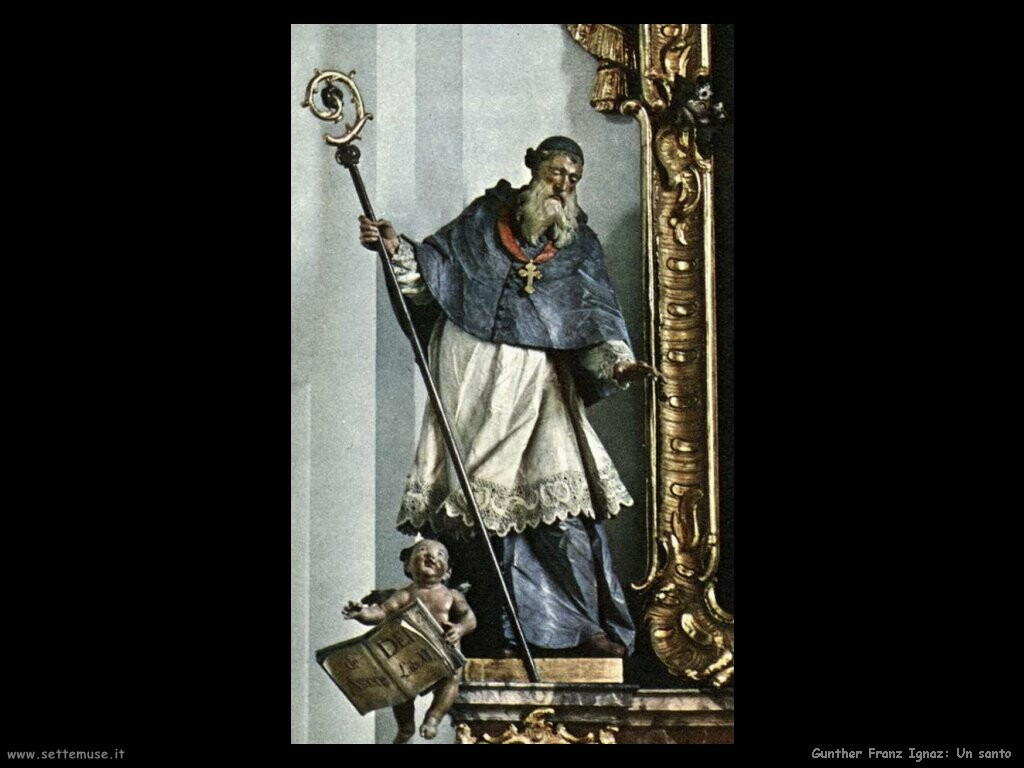 gunther franz ignaz Santo