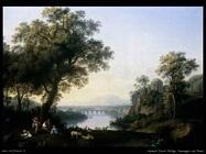 hackert jacob philipp Paesaggio con fiume