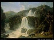 hackert jacob philipp Grandi cascate di Tivoli
