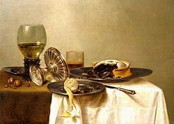 Opera di Willem Claesz Heda